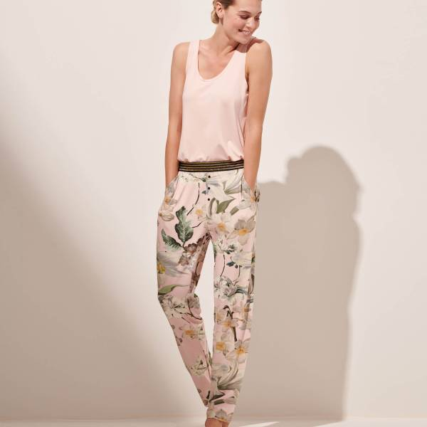Essenza Dames nachtmode overig Essenza maple rosalee trousers long rose