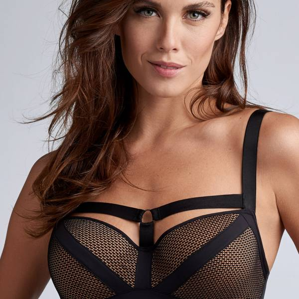 Marlies Dekkers Balconnet BH Marlies Dekkers wing power balcony zwart