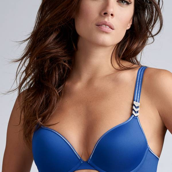 Marlies Dekkers Push Up BH Marlies Dekkers sky high push up blauw
