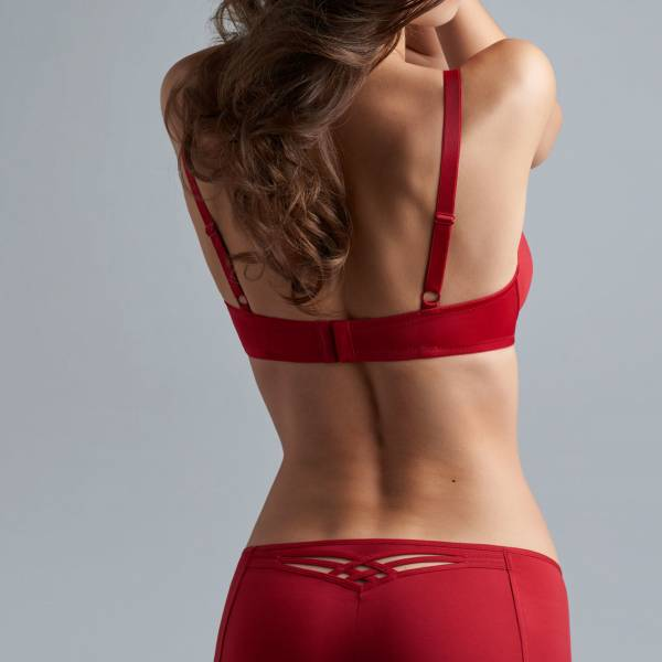 Marlies Dekkers Slip Marlies Dekkers dame de paris red short rood