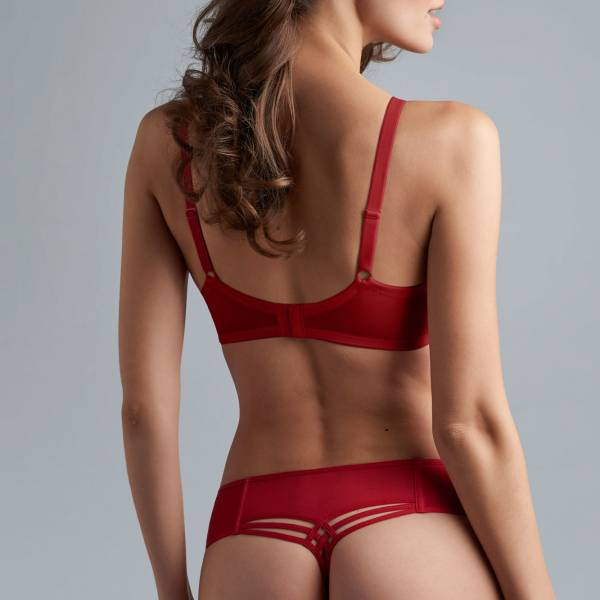 Marlies Dekkers String Marlies Dekkers dame de paris red thong 7cm rood