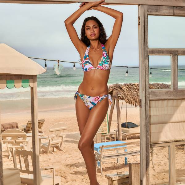 Cyell Bikini Top Cyell las colorados wit combinatie